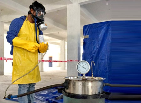 Methyl bromide Fumigation